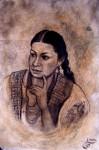 Obras de arte: America : México : Michoacan_de_Ocampo : Morelia : Joven de Zacan Mich.