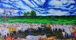 Obras de arte: America : Colombia : Distrito_Capital_de-Bogota : Bogota : Trabajo de Llano