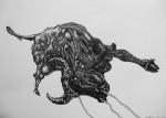 Obras de arte: America : Colombia : Distrito_Capital_de-Bogota : Bogota : Serie (Toros)