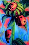 Obras de arte: America : Colombia : Distrito_Capital_de-Bogota : Bogota : Serie (Jardines)