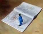 Obras de arte: Europa : España : Catalunya_Girona : olot : El artista