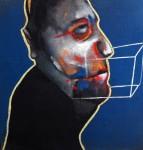 Obras de arte: America : México : Mexico_Distrito-Federal : Xochimilco : Hombre (homenaje a Francis Bacon)