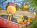 Obras de arte: America : Colombia : Santander_colombia : Bucaramanga : Homenaje Palenqueras