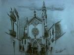 Obras de arte: Europa : España : Catalunya_Barcelona : Casserres : Iglesia2