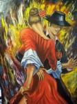 Obras de arte: America : Estados_Unidos : Florida : una_nueva : EL BAILAZON de HOGUERA  by RICARDO