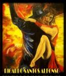 Obras de arte: America : Estados_Unidos : Florida : una_nueva : GYPSY  FLAMES...por  RICARDO SANTOS-ALFONSO