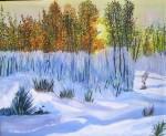 Obras de arte: Europa : España : Catalunya_Barcelona : Santpedor : La primera neige