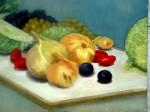 Obras de arte: Europa : España : Navarra : tudela : bodegon cebollas