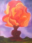 Obras de arte: America : Argentina : Buenos_Aires : Haedo : Arbol de Fuego