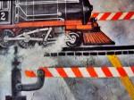 Obras de arte: America : Estados_Unidos : Florida : miami : Trenes
