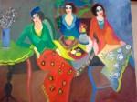 Obras de arte: Europa : España : Andalucía_Granada : Granada_ciudad : alegres comadres