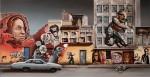Obras de arte: Europa : Países_Bajos : Noord-Brabant : Eindhoven : graffiti landscape