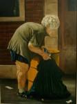 Obras de arte: America : Estados_Unidos : Florida : una_nueva : HOMELESS...anciana de la calle Dixie