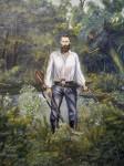 Obras de arte: America : Estados_Unidos : Florida : una_nueva : el CONFEDERADO HENRY  BERRY LOWERY por  RICARDO