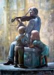 Obras de arte: Europa : España : Navarra : tudela : monumento a la musica Tudela (Navarra)