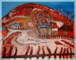 Obras de arte: Europa : Hungría : Pest : Dunaharaszti : Behind Fences
