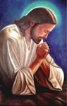 Obras de arte: America : México : Sinaloa : guamuchil : jesus en oracion