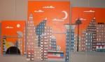 Obras de arte: Europa : España : Catalunya_Tarragona : Reus : Ciudad futuro