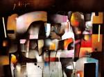 Obras de arte: America : México : Mexico_Distrito-Federal : Xochimilco : Simetría esencial