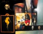 Obras de arte: America : México : Mexico_Distrito-Federal : Xochimilco : Oclusión