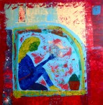 Obras de arte: America : M�xico : Quintana_Roo : cancun : BLUE GIRL ON WINDOW SILL