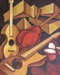 Obras de arte: Europa : España : Galicia_Pontevedra : pontevedra : LA GAITA