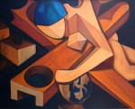 Obras de arte: Europa : España : Galicia_Pontevedra : pontevedra : SACRIFICIO
