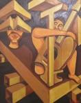 Obras de arte: Europa : España : Galicia_Pontevedra : pontevedra : CARETA MUSICAL