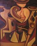 Obras de arte: Europa : España : Galicia_Pontevedra : pontevedra : LA DAMA DEL BASTON