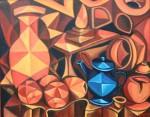 Obras de arte: Europa : España : Galicia_Pontevedra : pontevedra : TETERA AZUL