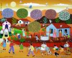 Obras de arte: America : Brasil : Pernambuco : Jaboatao : NOIVOS CAIPIRA