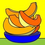 Obras de arte: America : Colombia : Cesar : Valledupar : Melon Tajado