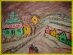 Obras de arte: Europa : Hungría : Pest : Dunaharaszti : A falu télen