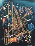 Obras de arte: America : Colombia : Santander_colombia : Bucaramanga : NOCTURNO DE JAZZ