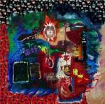 Obras de arte: America : M�xico : Mexico_Distrito-Federal : Cuauhtemoc : parafrasis dialogo con la juventud de Kipenberger