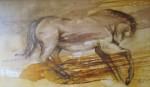 Obras de arte: America : Chile : Region_Metropolitana-Santiago : Las_Condes : caballo nogal