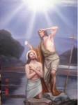 Obras de arte: America : México : Sinaloa : guamuchil : el bautismo de jesus