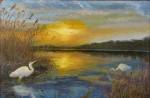 Obras de arte: Europa : Ucrania : Mykolayiv : Voznesensk : Garzas