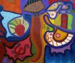 Obras de arte: America : Cuba : Isla_de_la_Juventud : Gerona : Ralea de Libélulas II.