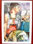 Obras de arte: America : Argentina : Buenos_Aires : Mar_del_Plata : Tributo a Miguel Angel