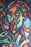 Obras de arte: America : Colombia : Distrito_Capital_de-Bogota : teusaquillo : AUTORRETRATO