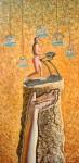 Obras de arte: Europa : Albania : Qarku_i_Fierit : Fier : La corrida ininterrumpida  sobre una roca interrumpida