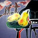 Obras de arte: Europa : Francia : Nord-Pas-de-Calais : LONGUENESSE : Personnages et piano