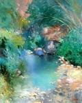 Obras de arte: Europa : España : Islas_Baleares : palma_de_mallorca : POESIA EN AZUL