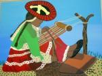 Obras de arte: America : Perú : Lima : Barranco : Mujer de Chincheros