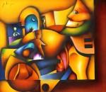 Obras de arte: America : M�xico : Mexico_Distrito-Federal : Xochimilco : Laberinto multicolor