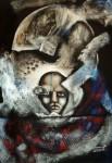 Obras de arte: Europa : Suecia : Stockholms : Estocolmo : mascara