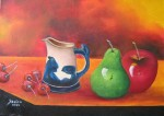 Obras de arte: America : Colombia : Distrito_Capital_de-Bogota : Bogota_ciudad : BODEGON FRESA
