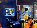 Obras de arte: America : México : Mexico_Distrito-Federal : Xochimilco : Descubrimiento