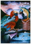 Obras de arte: America : Perú : Ucayali : PUCALLPA : Encuentro premeditado